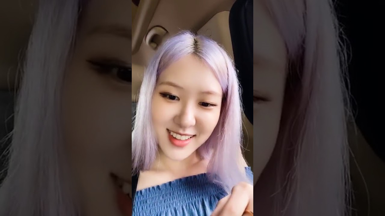 Rosé BLACKPINK Being Funny Live Instagram with Hyerin ( 1 July 2020 )
