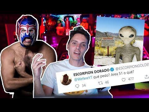 El Escorpion DORADO Tambien va al Area 51-Wefere NEWS