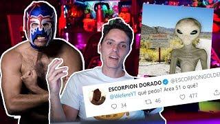 Gambar cover El Escorpion DORADO Tambien va al Area 51-Wefere NEWS