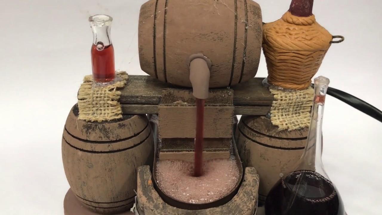 Vinaio fontana per presepe accessori presepi napoletani for Fontana presepe fai da te