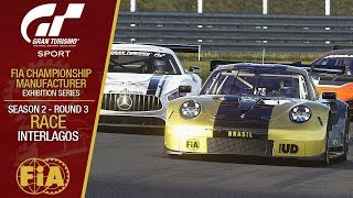 GT Sport - FIA Championship Exhibition 2019 #06: Season 02 - Round 03 - Race: Interlagos