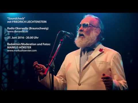 """""""Soundcheck"""" mit Friedrich Liechtenstein vom 27. Juni 2016 (Radio Okerwelle)"""