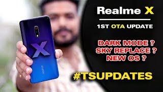 "Realme X ""NEW OS UPDATE"" 