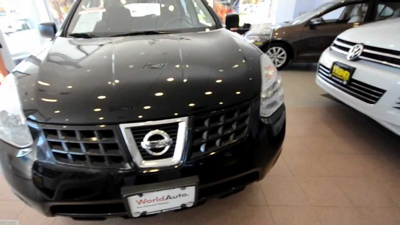 2008 Nissan Rogue S All Wheel Drive Stk 3393a For Sale