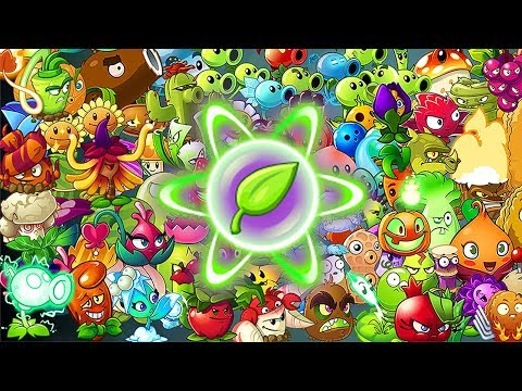 All Plants In Plants Vs Zombies 2 Power-Up!
