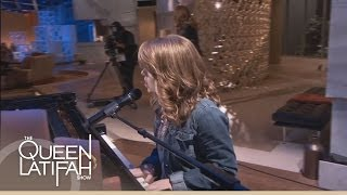 anna christine performs house of the rising sun on the queen latifah show