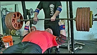 [open Gym] How To Bench 550 Lbs Raw!