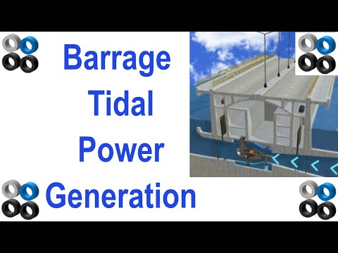 How Barrage Tidal Power Generation Works