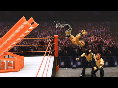 Ricochet & Ali Vs. The Hardy Boyz: Action Figure Showdown