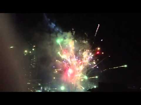 San Miguel Corp 2012 Xmas Party Fireworks