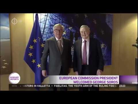 George Soros Kisses Jean Claude Juncker