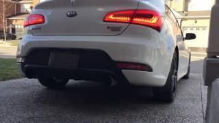 2015 Kia Forte Koup Turbo Muffler Delete