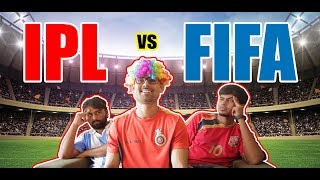 When an IPL fan watches FIFA World Cup | Hilarious Comedy Sketch