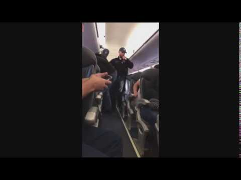 United Airlines Passenger WASTED!!!