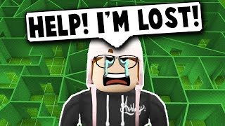 I MADE A MAZE AND GOT LOST! (Roblox Bloxburg) Roblox Roleplay