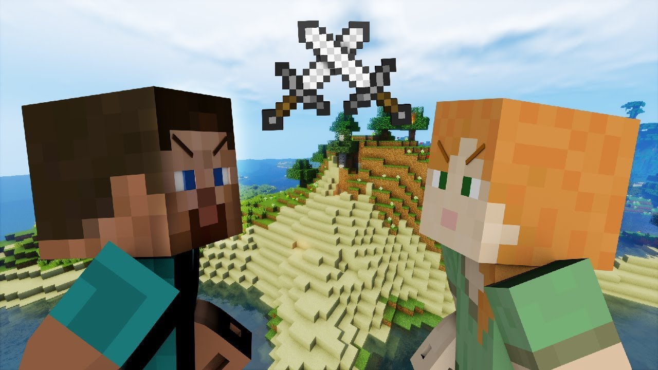 Alex Vs Steve Minecraft Part