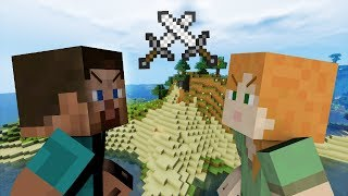 Alex VS Steve Minecraft PART 4