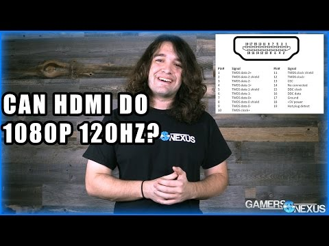 Does HDMI Support 1080p at 120Hz?