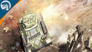 HUGE CITY/CASTLE ASSAULT | Company of Heroes 2 Campaign Gameplay 10