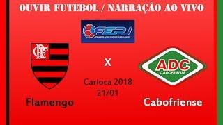 Baixar Flamengo 1 x 0 Cabofriense - AO VIVO - Campeonato Carioca 2018 ( 21/01/2018 )