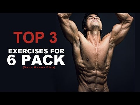 Top 3 ABS Exercises Not to Miss | (Guru Mann's top 3 choices)