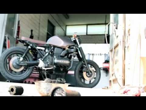 bmw tatanka 75 bobber café racer - youtube