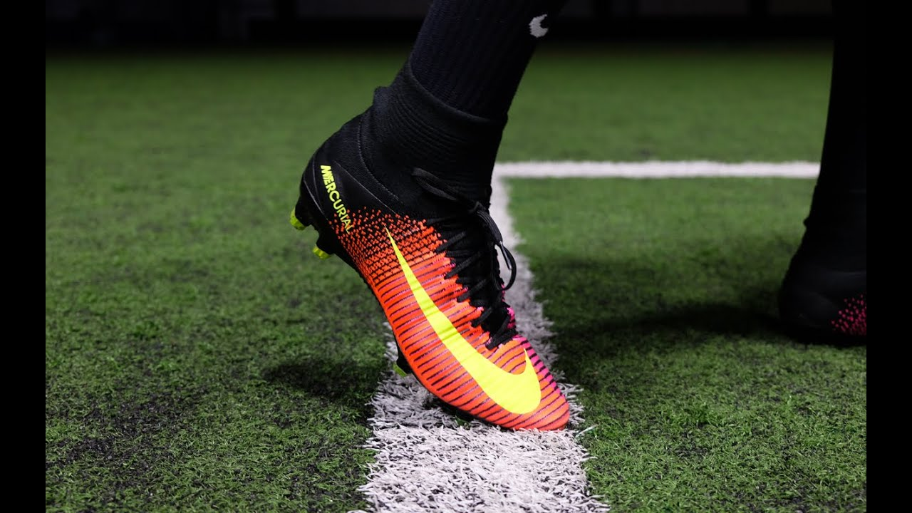 780eced00dc Review   On-Feet  Nike Mercurial Superfly V FG (Total Crimson  Black ...
