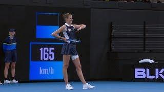 WTA TOP 5: Rozesmátá Karolína Plíšková i prohoz Petry Kvitové