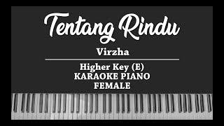 Download Mp3 Tentang Rindu - Virzha  Female Karaoke Piano Cover