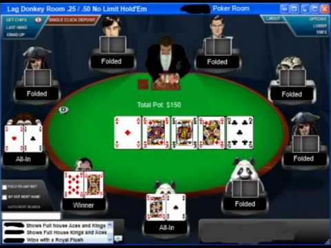 Poker game algorithm