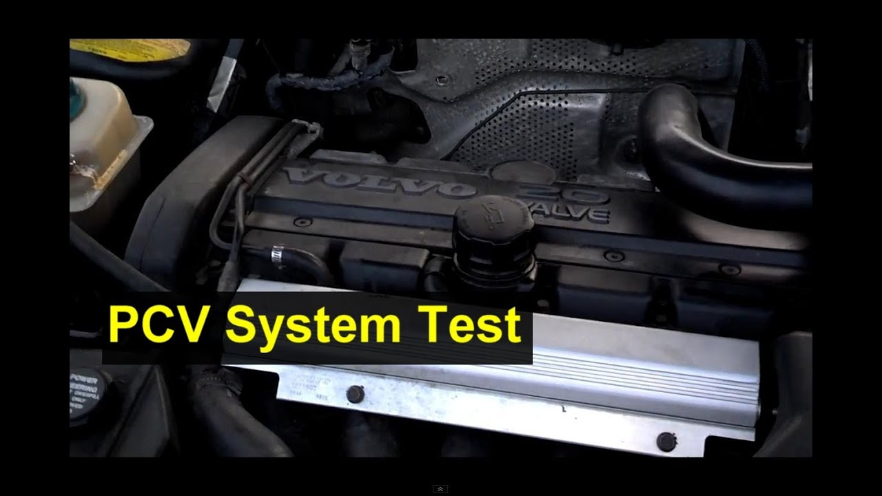 Volvo PCV system check, 850, V70, S70, and others  Auto Repair Series  YouTube