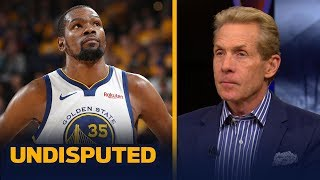 Blazers only shot to defeat the Warriors is if Kevin Durant returns –Skip Bayless | NBA | UNDISPUTED
