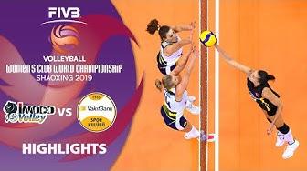Imoco vs. VakifBank Istanbul - Highlights | Women's Volleyball Club World Champs 2019