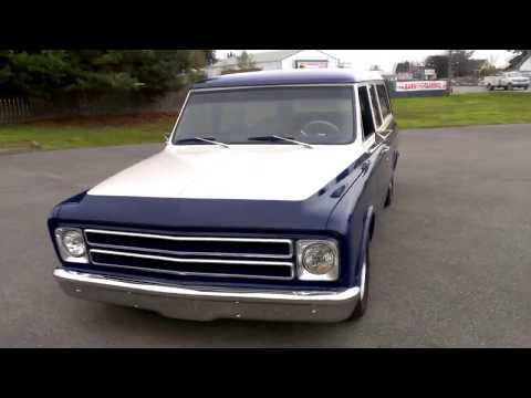 1972 Chevrolet 3 door Suburban