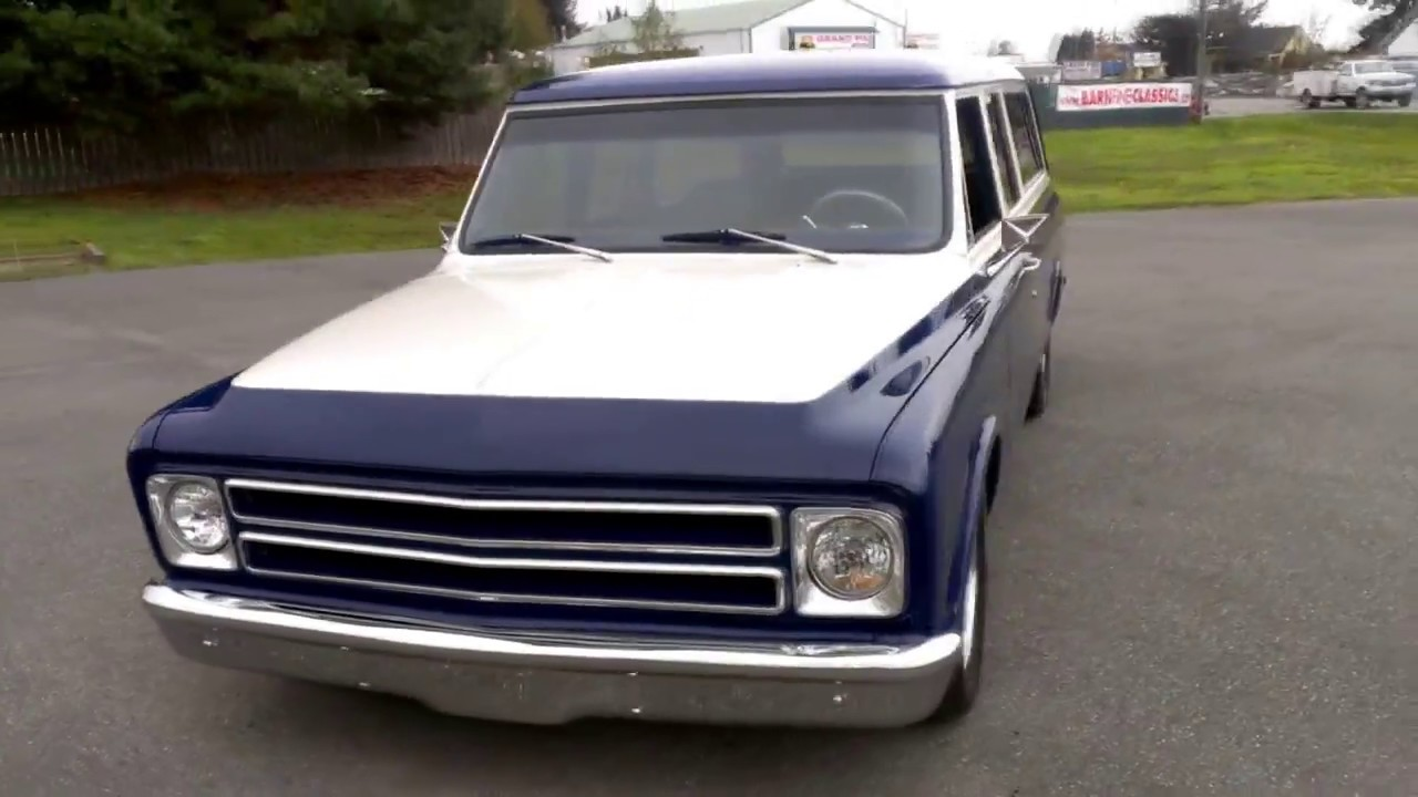 1972 Chevrolet 3 door Suburban & 1972 Chevrolet 3 door Suburban - YouTube