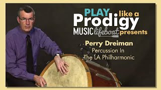 Learn Drums And Percussion From A Master: Lesson 4 Feeling the Beat With Perry Dreiman