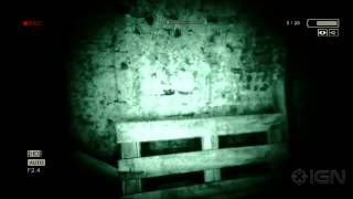 outlast ps4 gameplay demo ign live e3 2013