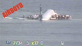US Airways 1549 Crash Landing Hudson River CCTV thumbnail