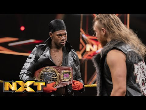 Pete Dunne interrupts Velveteen Dream and Roderick Strong: WWE NXT, July 24, 2019