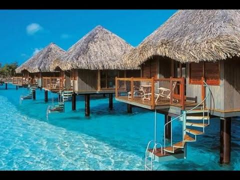 Four Seasons Resort Bora Bora french polynesia - YouTube