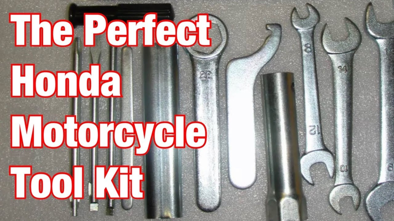 How To Make A Motorcycle Tool Kit Beware Knock Off Ebay Honda Toolkits Part 205 Youtube