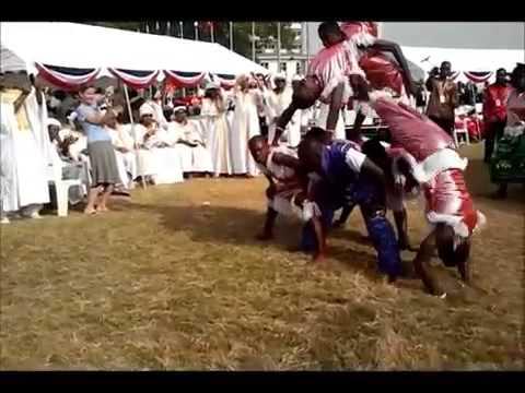Liberia Cultural Dancers