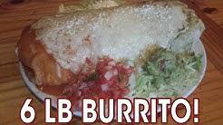 Arizona's BIGGEST Mexican Burrito Challenge!