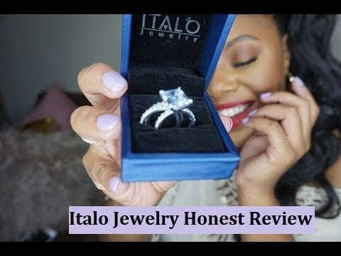 Affordable Sterling Silver Wedding Sets For Women | Italo Jewelry Review By MakeupMesha