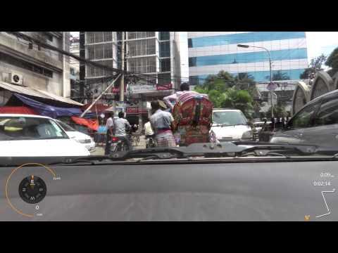 Weekend Afternoon Drive in Gulshan, Dhaka