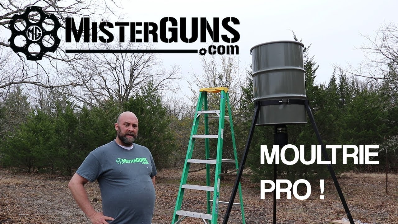 Moultrie Deer Feeder - Review and 30 and 55 Gallon Assembly and Setup