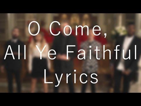 O Come, All Ye Faithful「Pentatonix」[On Screen Lyrics]