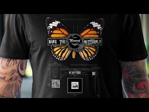 VINTAGE DESIGN AUGMENTED REALITY  T-SHIRT