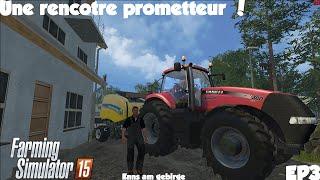 Farming Simulator 15 / Rp / Ep1 / Une rencontre Prometteuse !