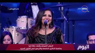 المطربة إيمان عبد الغني تتألق في أغنية \
